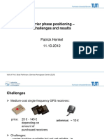 29. Carrier Phase Positioning - Challenges and Results - 11 10 2012