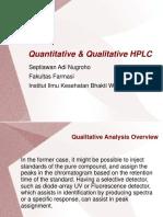 kuantitatif & kualitatif HPLC