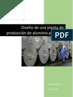 Planta de producción de aluminio