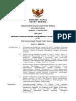 Nomor 1 Tahun 2014 Ttg Retribusi Imta