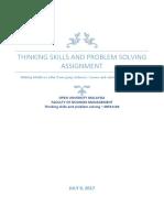 Thinking Skills and Problem Solving - Gang Violence 2