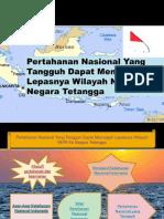 Pertahanan Nasional Yang Tangguh Dapat Mencegah Lepasnya Wilayah