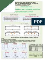 26-802-Tabela de Dimensionamento Laje Protendida - Vãos Máximos