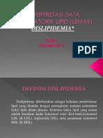 Interpretasi Data Laboratorik Lipid (Lemak)