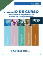 Plano de Curso de Instalador e Reparador de Redes de Computadores 2016_1