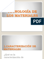 Tecnologia de Los Materiales POWER POINT 1