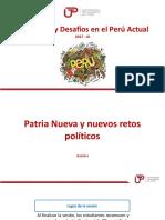Sesion 6 Patria Nueva y Nuevos Retos Politicos