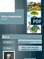 Ética Ambiental Árvores
