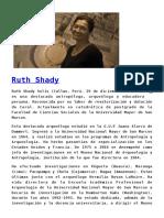 Ruth Shady -