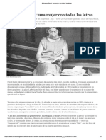 Alfonsina Storni_ Una Mujer Con Todas Las Letras