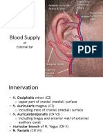 Blood Supply of External Ear