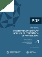 Processo de  construção de perfil de competência de profissionais