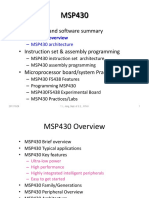 MSP430-1 MSP430 Overview