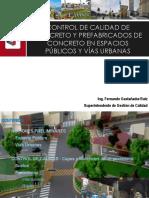 Qc Concreto y Prefabricados de Concreto en Espacios Públicos y Vías Urbanas - Fgastanaudi