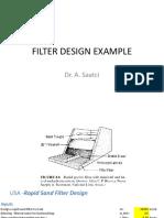 Rapid Sand Filters