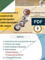 Simposio Nacional Avances y Perspectivas en La Producción de Cuyes Tratamiento y Control de Principales Enfermedades en Cuyes