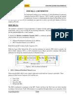 3.4 IEEE 802.11 Amendments