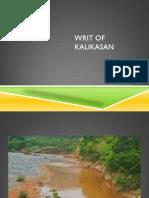 Writ of Kalikasan May 2017