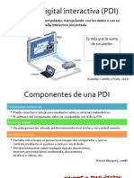 Pizarra Digital Interactiva (PDI)