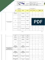 Matriz de Identificacion y Valoracion de Aspectos Ambientales Multitrac