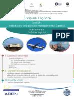 Logistică