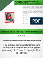 Técnico de Operação Júnior PETROBRAS Questão 21 Resolvida da Prova 47 Edital No 1 PETROBRÁS / PSP RH – 1/2012</div></div><div class=