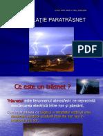 Instalatie Paratrasnet