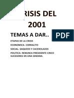 Crisis Del 2001. Word