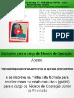Técnico de Operação Júnior PETROBRAS Questão 23 Resolvida da Prova 47 Edital No 1 PETROBRÁS / PSP RH – 1/2012</div></div><div class=