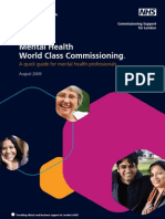 World Class Commissioning a Guide for Professionals