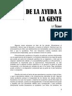 SKINNER - Ética De La Ayuda A La Gente.pdf