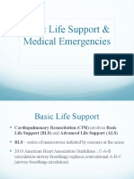 Basic Life Support & Medical Emergency