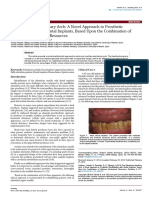 The Edentulous Maxillary Arch a Novel Approach to Prosthetic Rehabilitation With Dental Implants Based Upon the Combination of Optimum Mechanical Resources 2161 1122.1000217