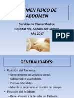 Examen Abdomen Um2013-2017