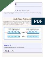Shift Right Arithmetic