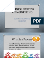 Presentation of Business Process Reengineering