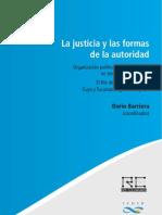 LA JUSTICIA y LAS FORMAS DE LA AUTORIDAD