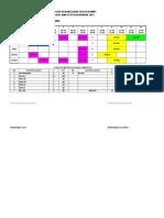 Jadual Waktu Kelas 2014