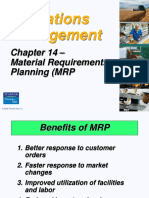 Operations Management MRP
