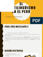 El Multilingüismo en El Peru