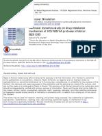 Molecular Dynamics of Drug Resistance