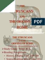 14 the Origins of Rome