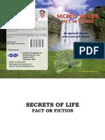 SECRETS of LIFE - Fact or Fiction by H Gopalkrishnan