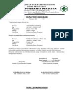 Surat Rekomendasi Praktek Apoteker