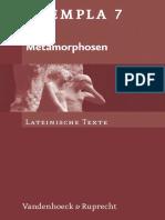 Exempla_Metamorphosen