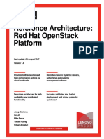 Reference Architecture- Red Hat OpenStack Platform