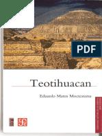 Teotihuacan - Eduardo Matos