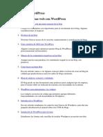 Manual de WordPress Diseño de Webs Con WordPress