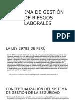 Fichas Sistema de Gestion de Riesgos Laborales