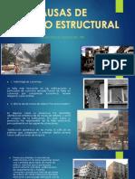 Causas de Diseño Estructural